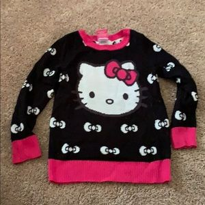 Hello Kitty Sweater size 5 Pre owned